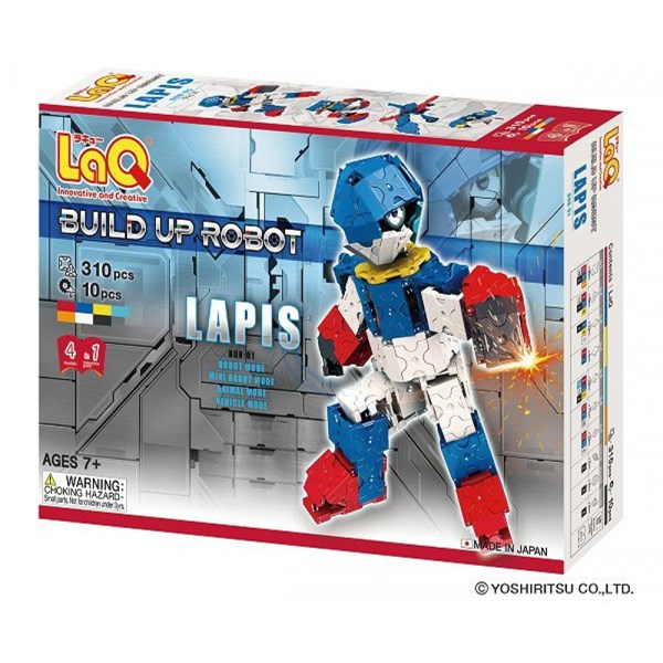 LaQ Build Up Robot Lapis (310 Parça)