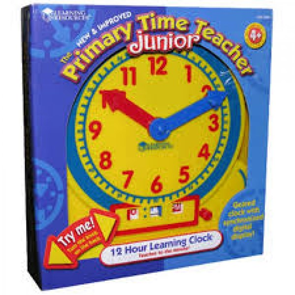 Primary Time Teacher™ 12 Hour Learning Clock®